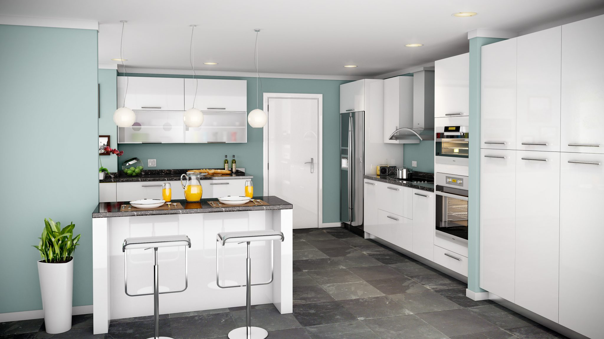 Cabinet all kitchen and bath solutions for Acrylic vs wood kitchen cabinets