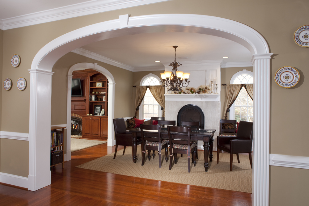 Image Gallery Interior Archway Molding